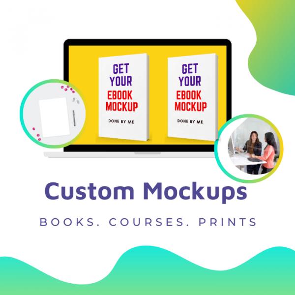 Custom Product Mockups