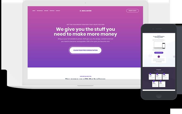 Web Design - Levatin Media
